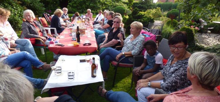 Singen in privaten Gärten 2016