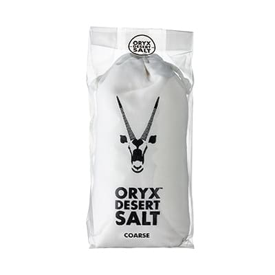 Oryx Desert Salt in Cotton Bag - Coarse