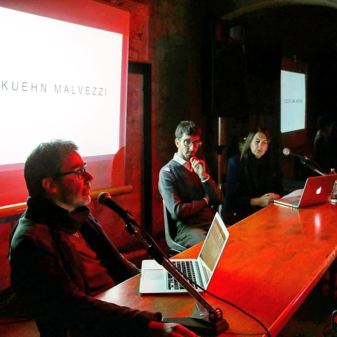 Temporary Office opening lecture by Simona Malvezzi,...