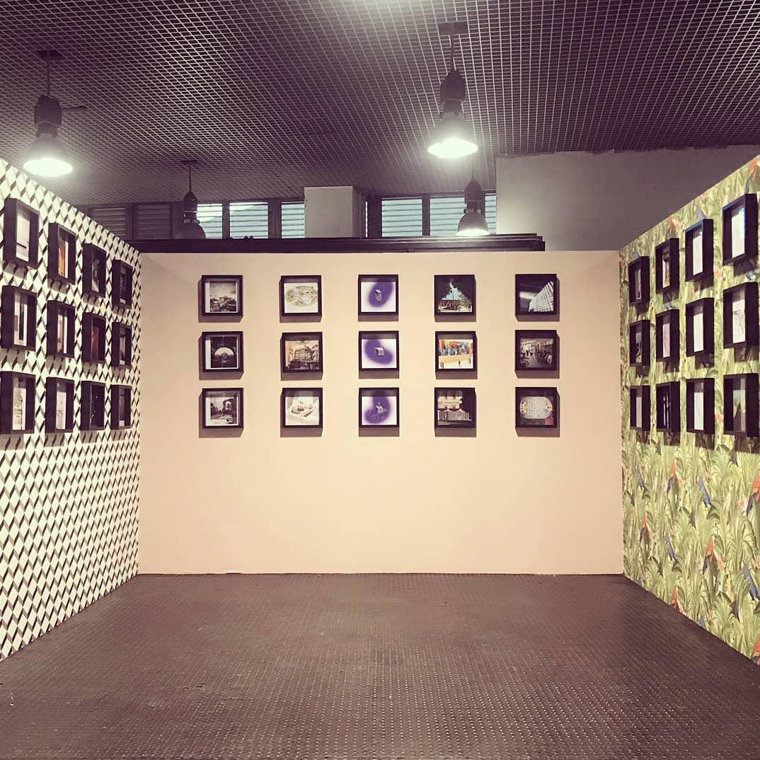 #Remix exhibition by @gizmoweb at Spazio Cubo…