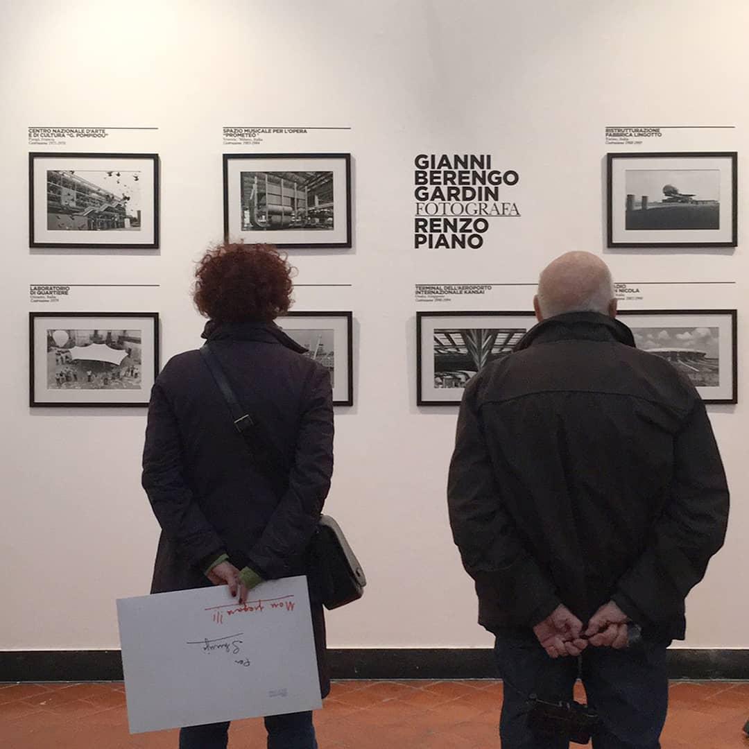 Maestro Gianni Berengo Gardin looking at his…