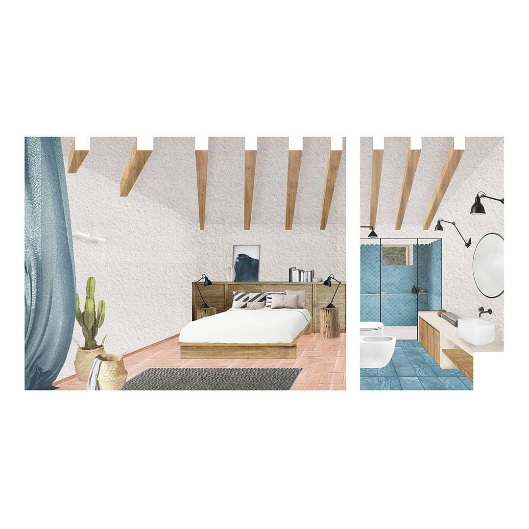 The master bedroom of #villatavolara, work in…