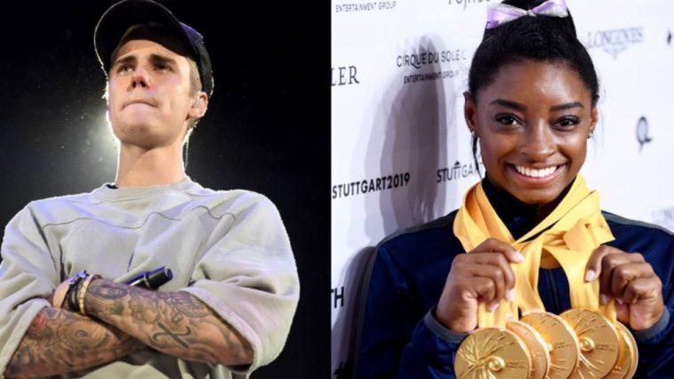 Justin Bieber scrive a Simone Biles dopo il ritiro alle Olimpiadi di Tokyo