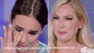 Toffanin e Panicucci piangono