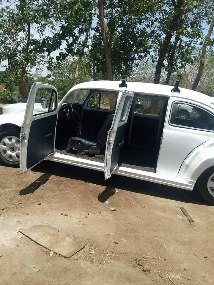 isa4 - Nigerian Man Redesigns A Beetle Tortoise Car Into A Rolls Royce [Photos]