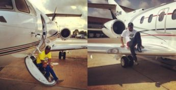 """davidop1 500x255 - I AM THE YOUNGEST GUY IN THE WORLD TO BUY HIS OWN PRIVATE JET"""" Davido Brags again!"""