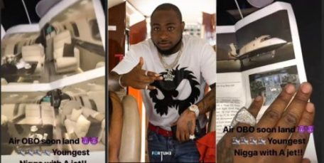 "davidopp 500x251 - I AM THE YOUNGEST GUY IN THE WORLD TO BUY HIS OWN PRIVATE JET"" Davido Brags again!"