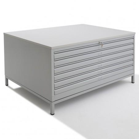 meuble pour plans a 1 6 tiroirs