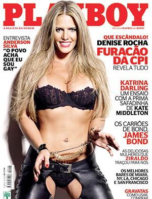 Denise Rocha Nua Playboy