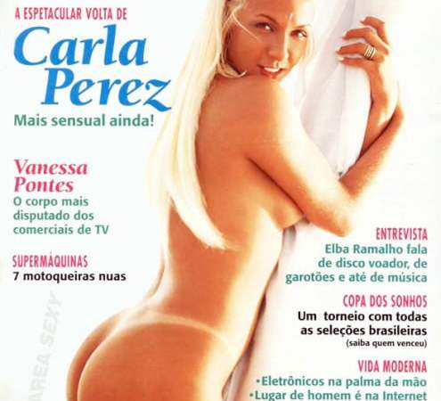 Carla Perez Nua Playboy