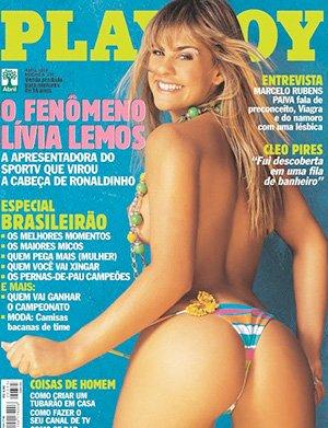 Livia Lemos Nua Playboy