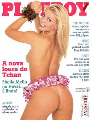 Sheila Mello Nua Playboy