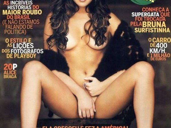 Fernanda Paes Leme pelada na Revista Playboy