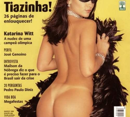 Tiazinha pelada na Playboy 1999