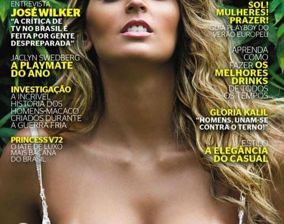 Mari Paraíba pelada na Playboy