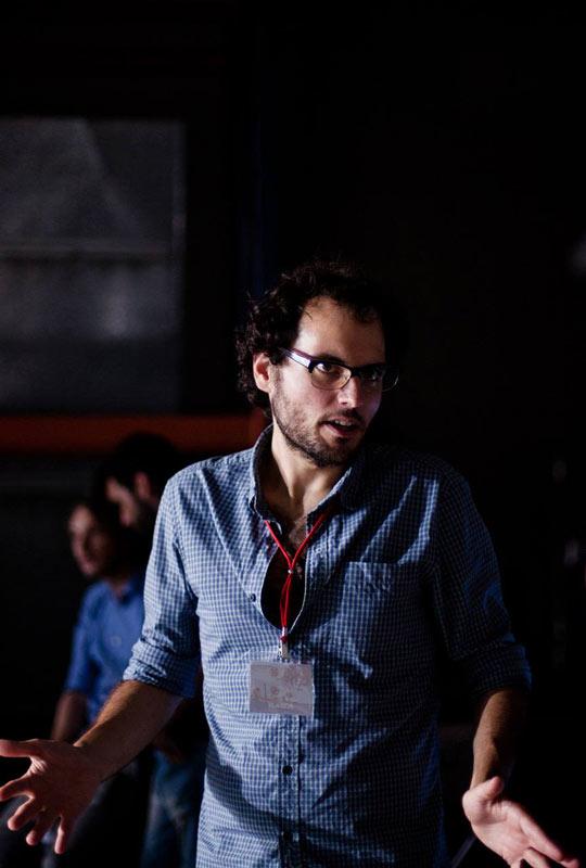 Alberto Evangelio camisa cuadros