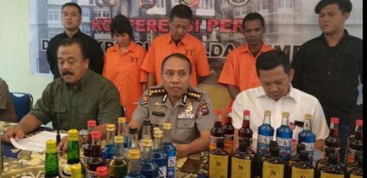 Pabrik Miras Palsu di Padang Digerebek, Tiga Pelaku Ditangkap