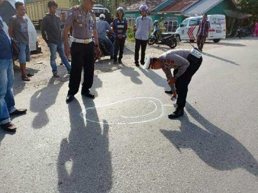 Ditabrak Pajero di Solok, Pengendara Revo Tewas dan Sempat Terpental 20 Meter