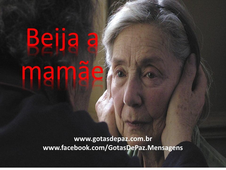 Beija a mamãe