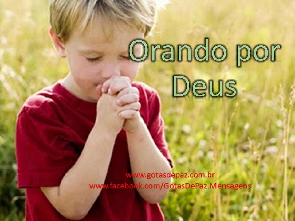 Orando por Deus
