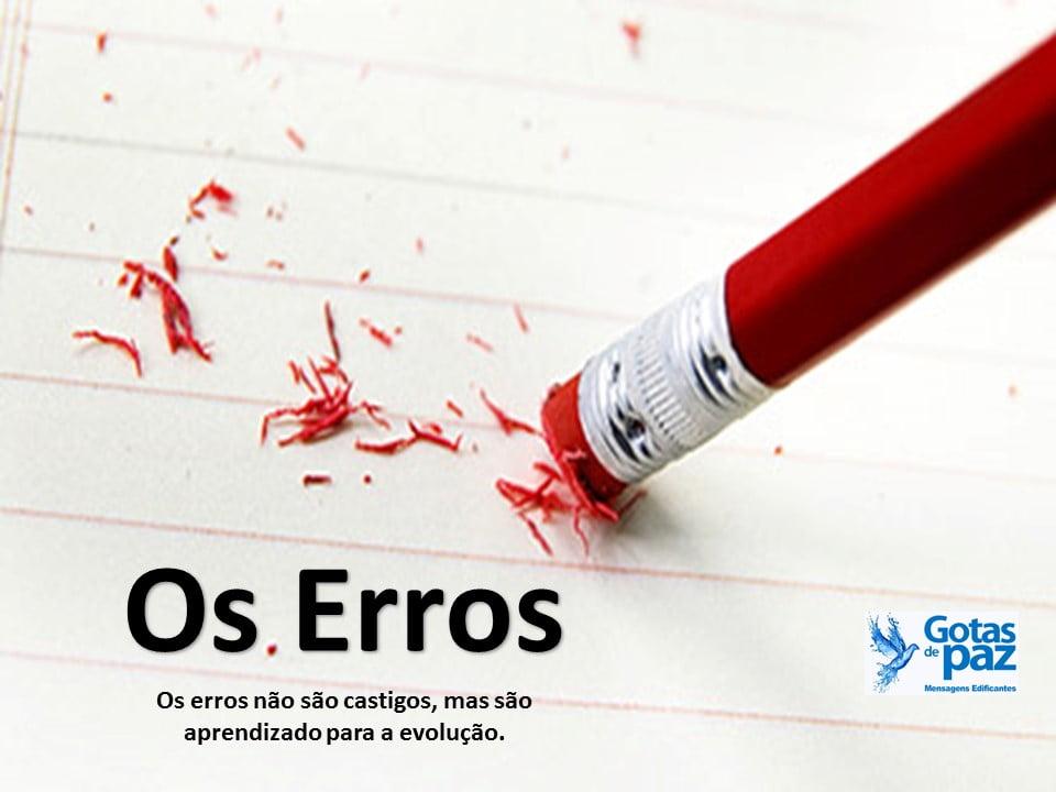 Os Erros