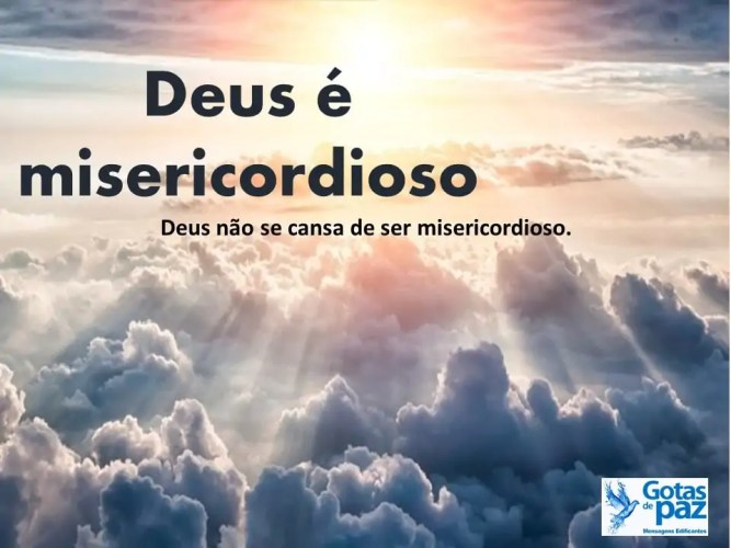 Sensibilidade E Essência Loja De Deus: Deus é Misericordioso