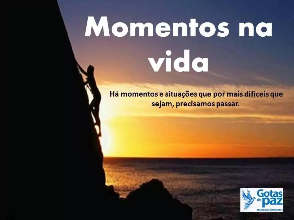 Momentos na vida