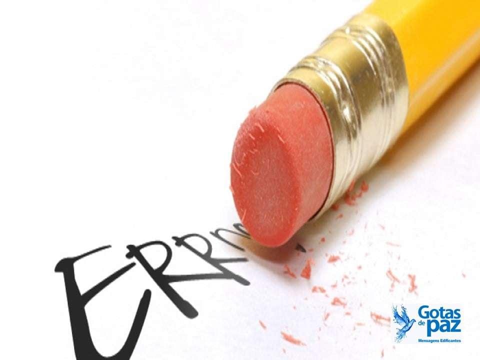 Repetição de erros