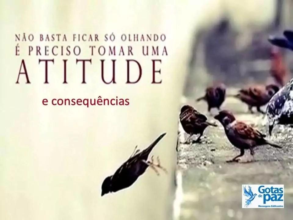 Atitudes e consequências