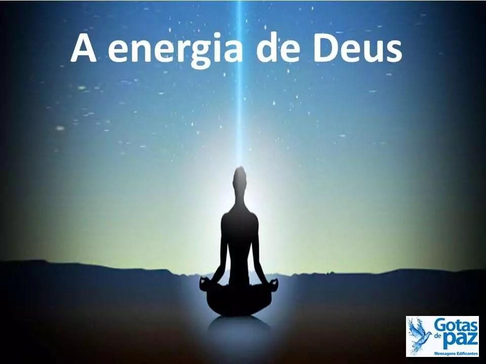 A energia de Deus