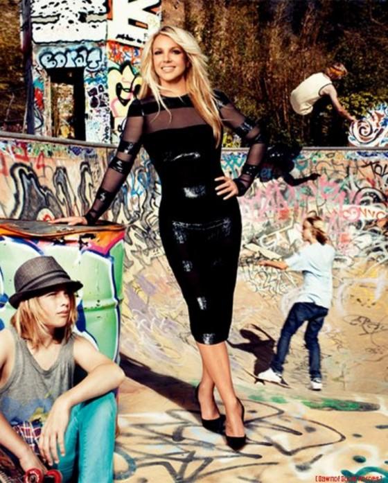 Britney Spears Harper S Bazaar Magazine June 2011