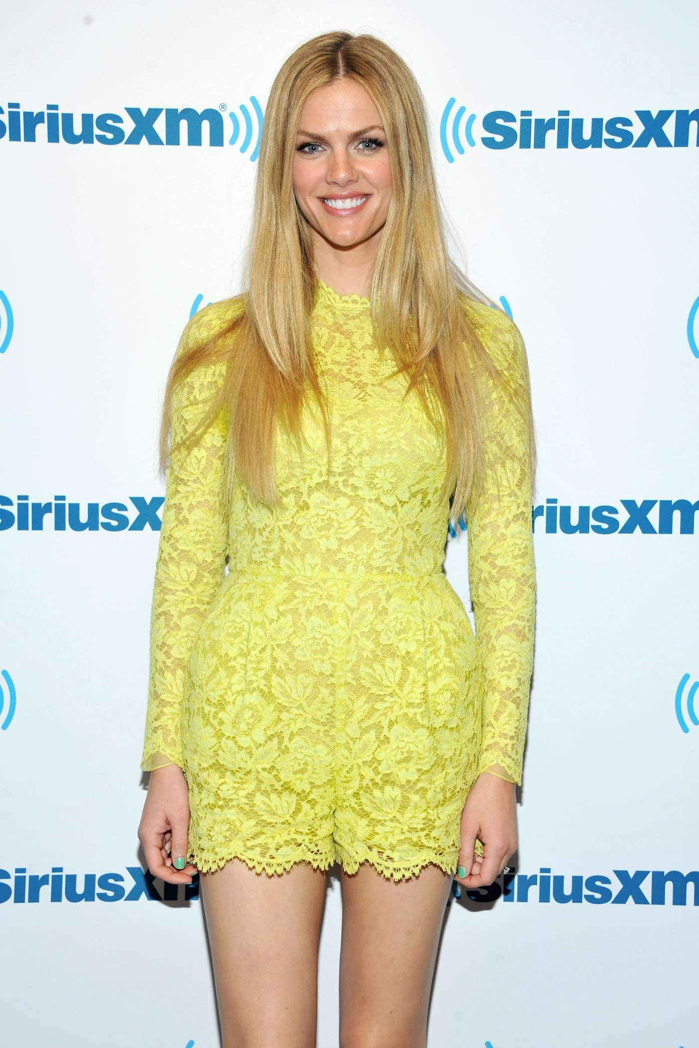 Brooklyn Decker SiriusXM Studios In NYC GotCeleb