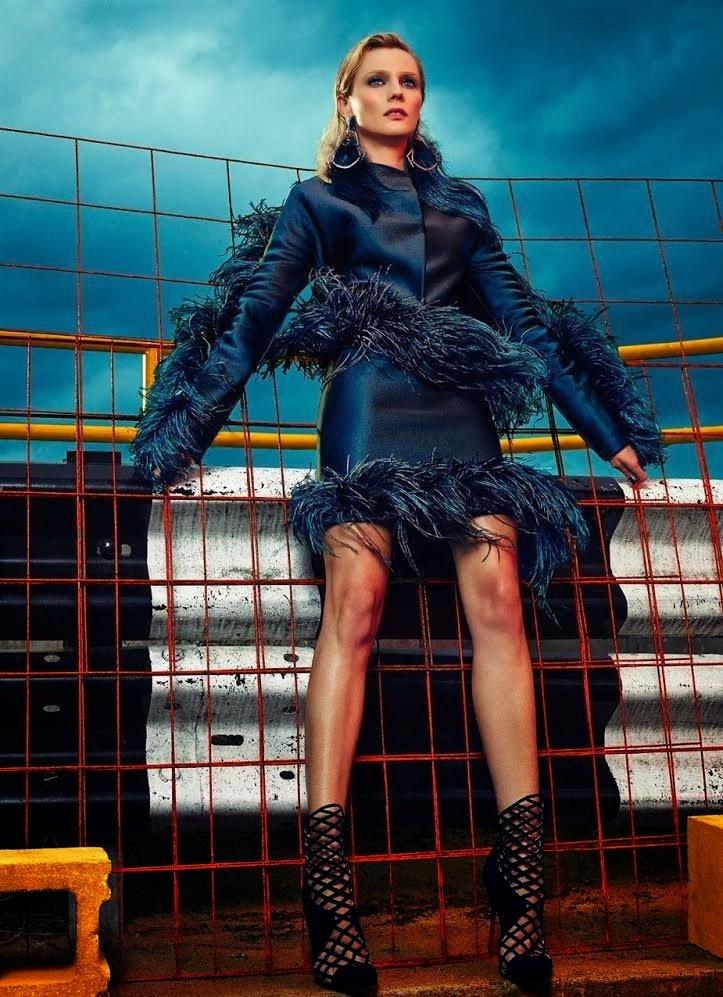 Diane Kruger Flaunt Magazine November 2014