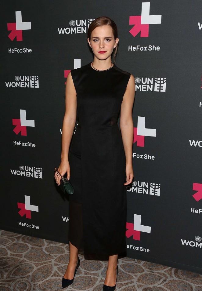 Emma Watson: UN Womens HeForShe Afterparty -06