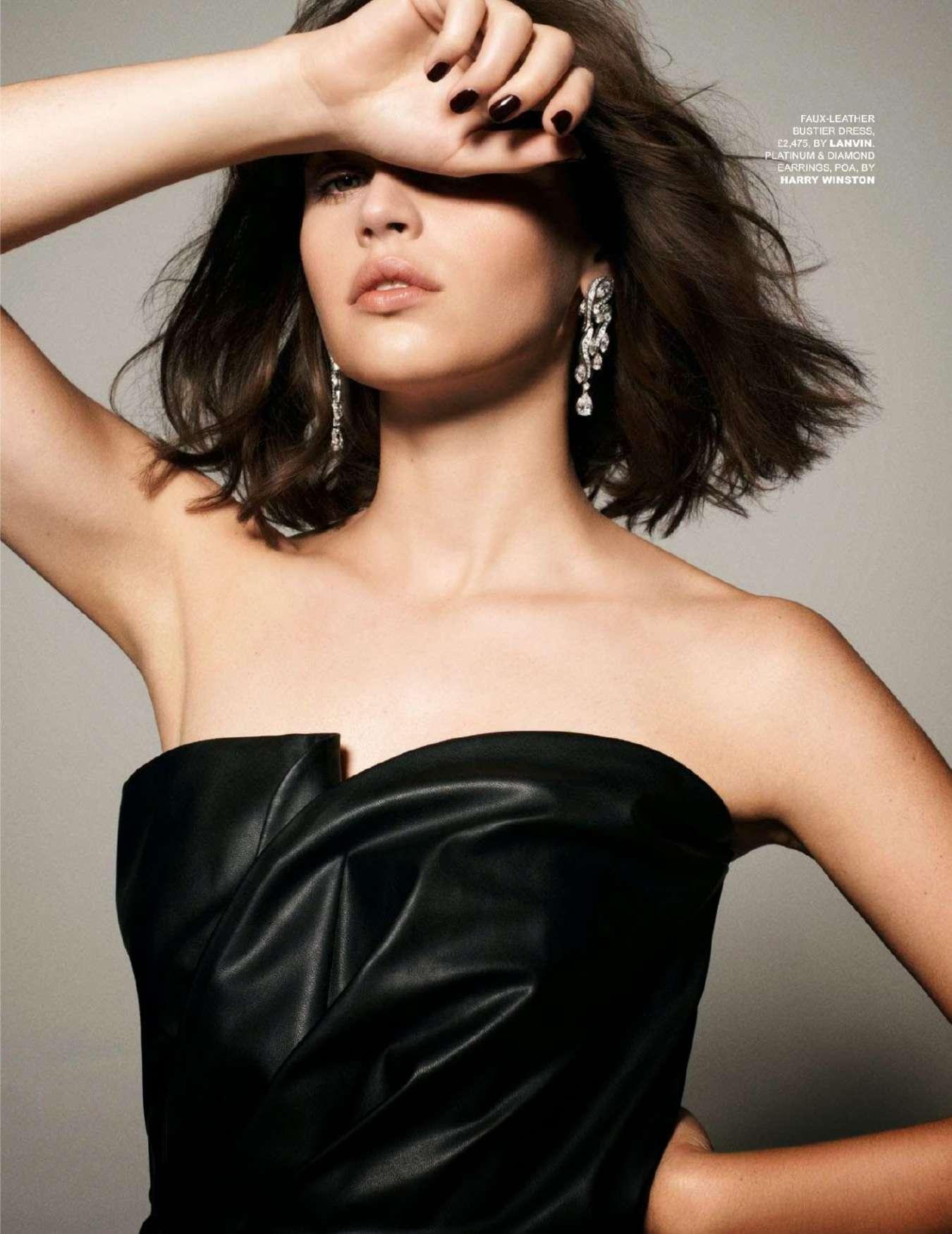Felicity Jones Tatler UK Magazine January 2015 08 GotCeleb