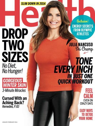 Julia Mancuso – Health Magazine (Jan/Feb 2014) | GotCeleb