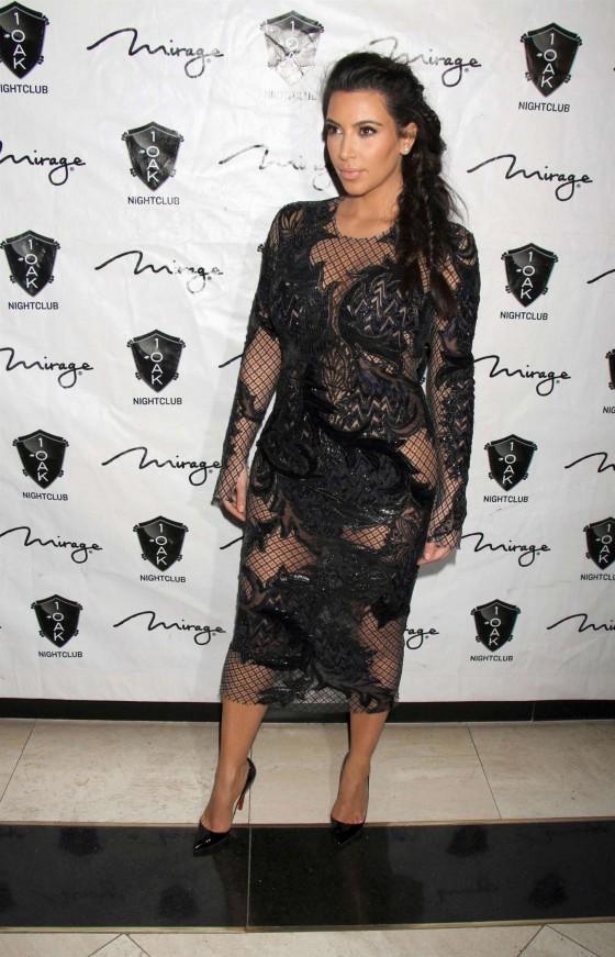 Amber rose kim kardashian lace dress