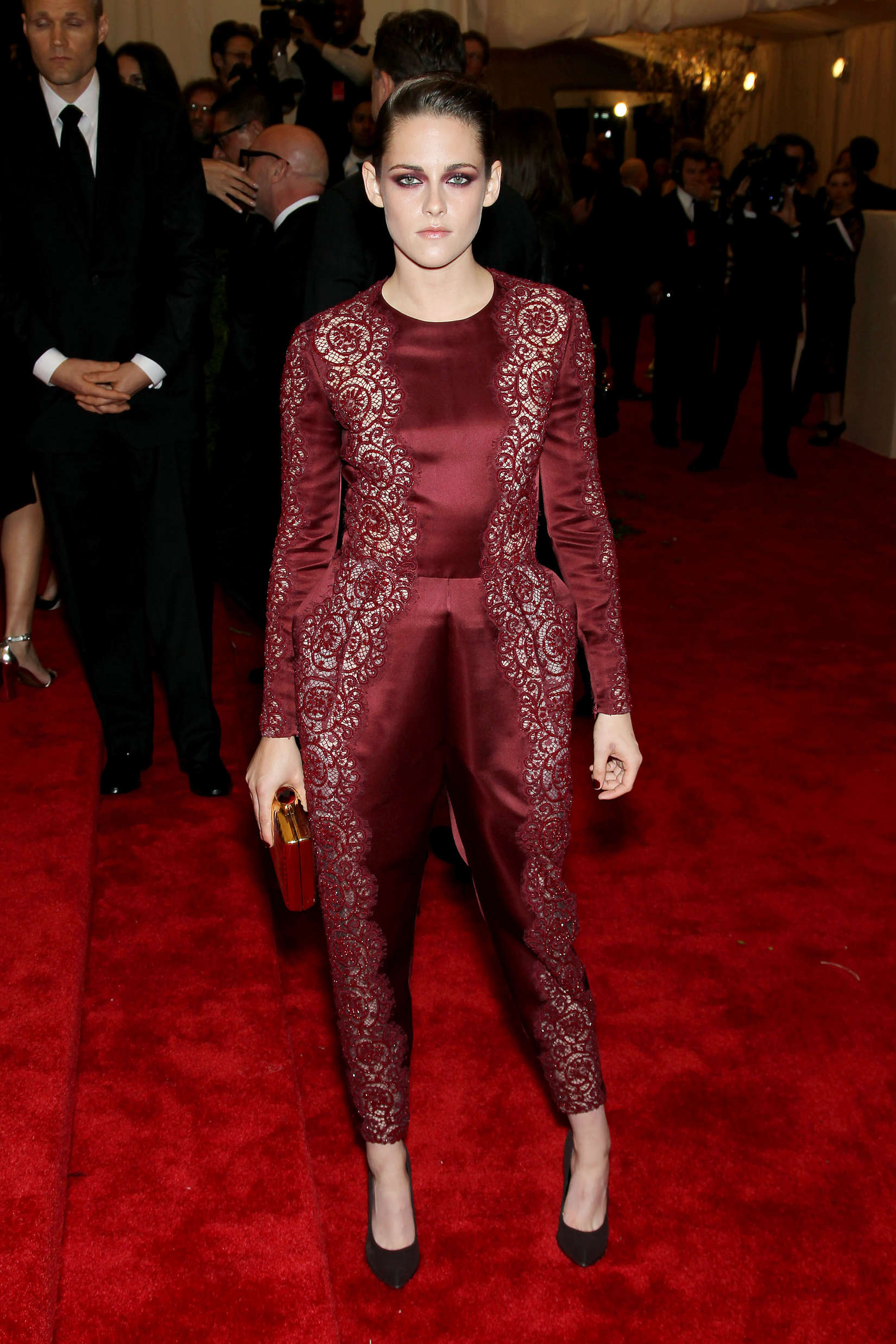Kristen Stewart 2013 Met Gala At The Metropolitan Museum