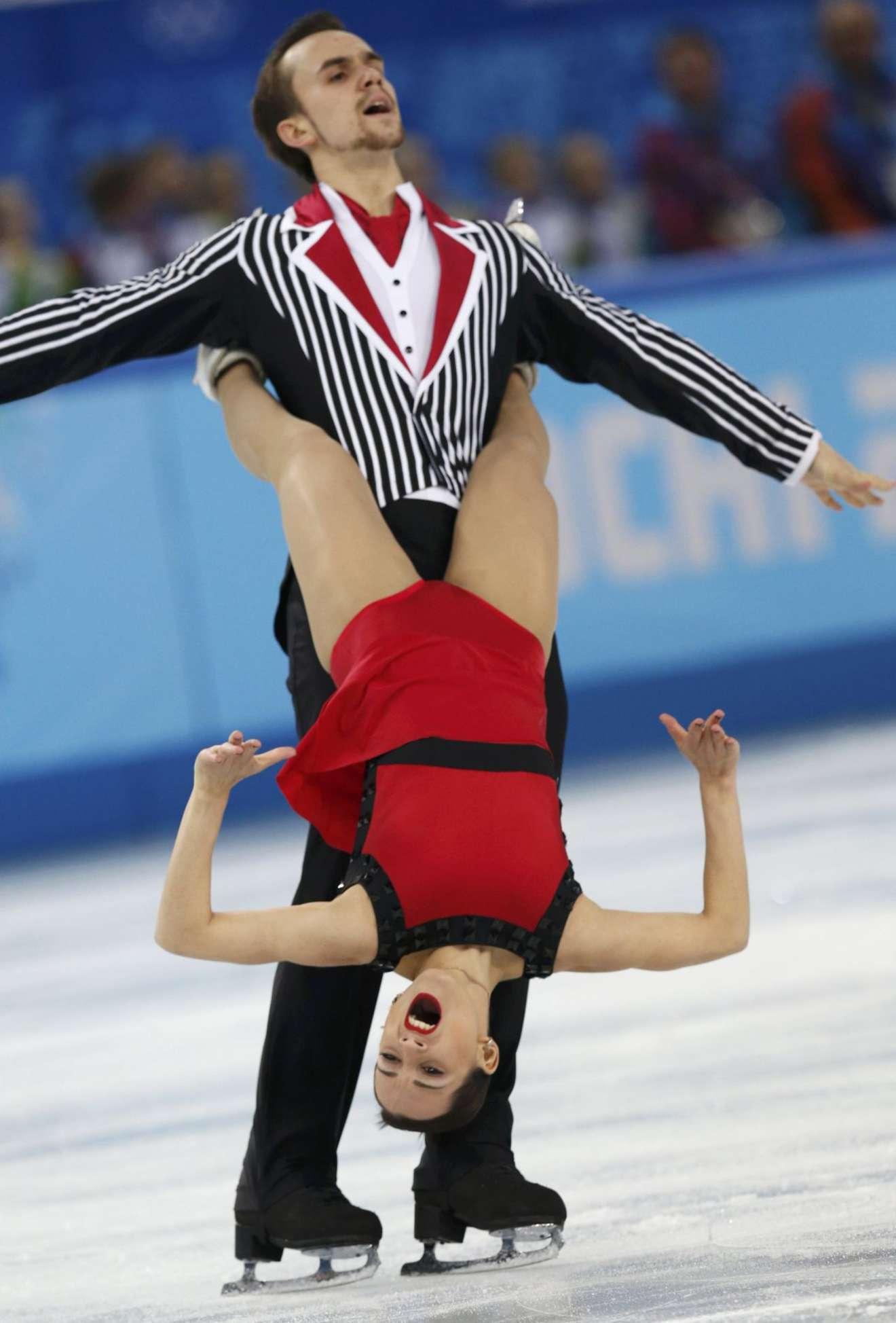 Ksenia Stolbova Sochi Winter Olympics Gotceleb