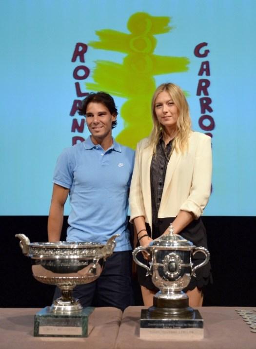 Maria Sharapova - 2013 French Open draw ceremony in Paris ...