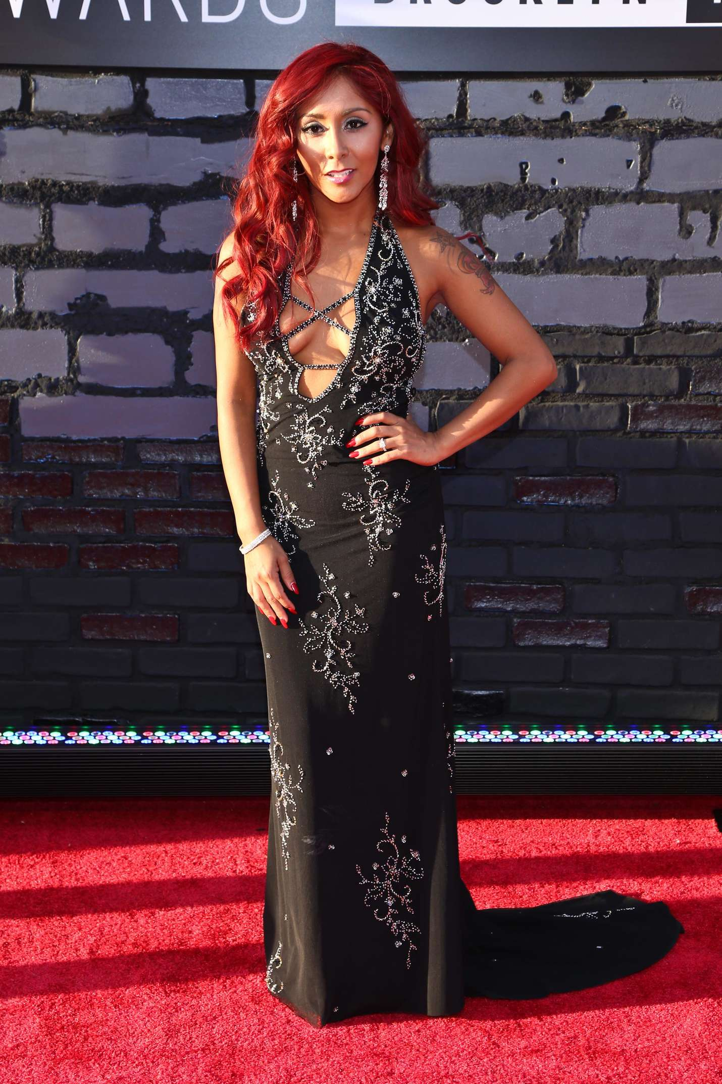 Nicole Snooki Polizzi 2013 MTV Video Music Awards In NY