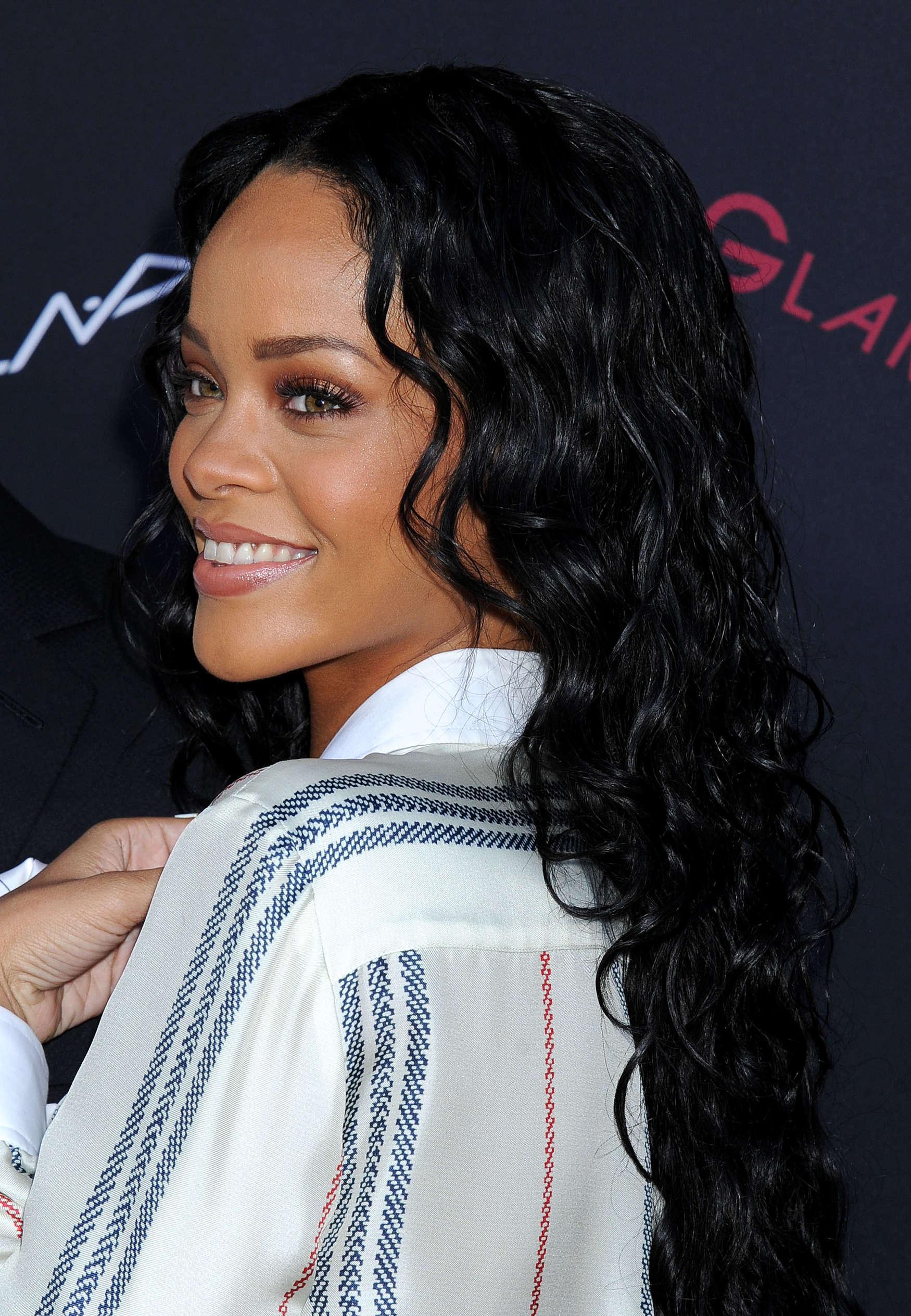 Rihanna Pictures 2014 Pre Grammy Brunch Roc Nation 08