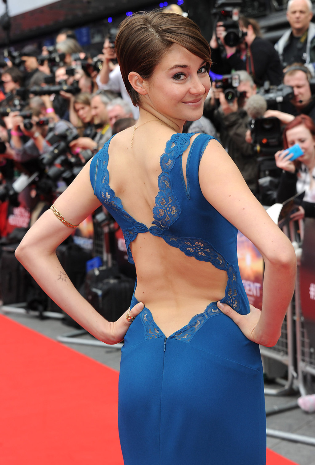 Shailene Woodley Divergent Premiere In London GotCeleb