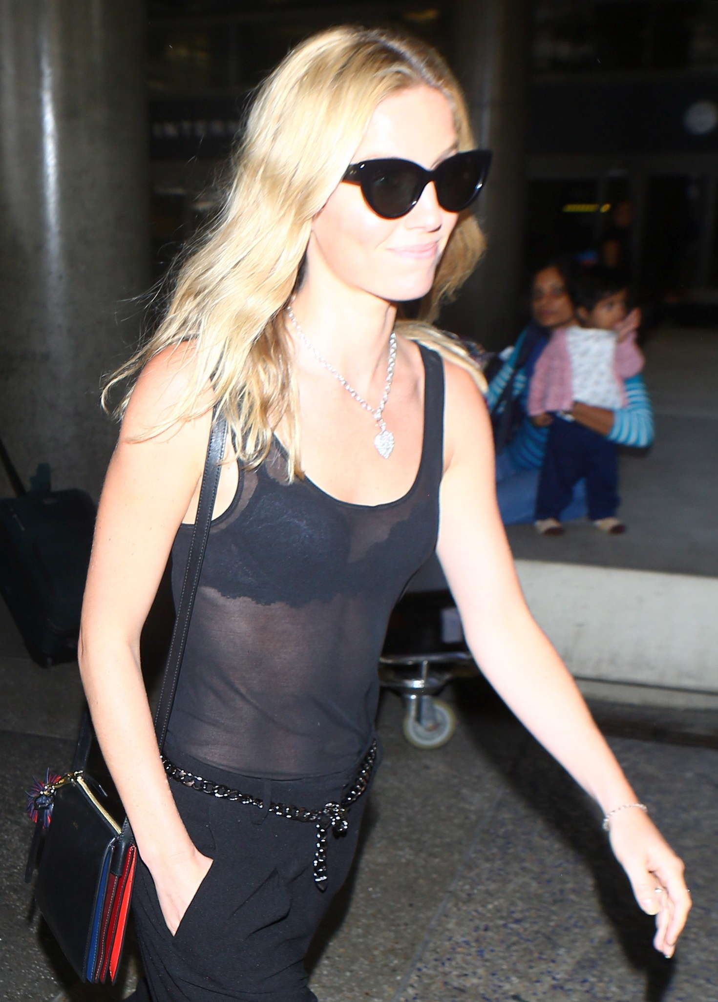 Annabelle Wallis At LAX Airport In Los Angeles GotCeleb