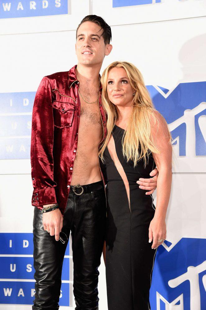 Britney Spears 2016 Mtv Video Music Awards In New York