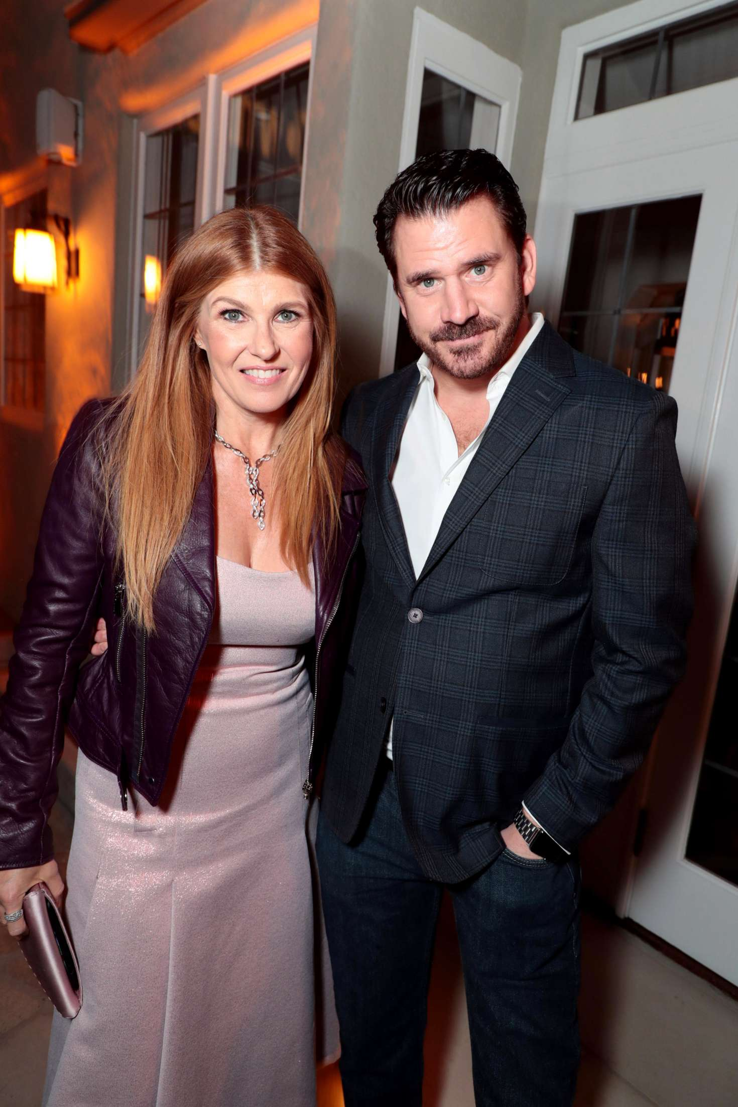 Connie Britton SHOWTIME Gives Thanks Holiday Event In