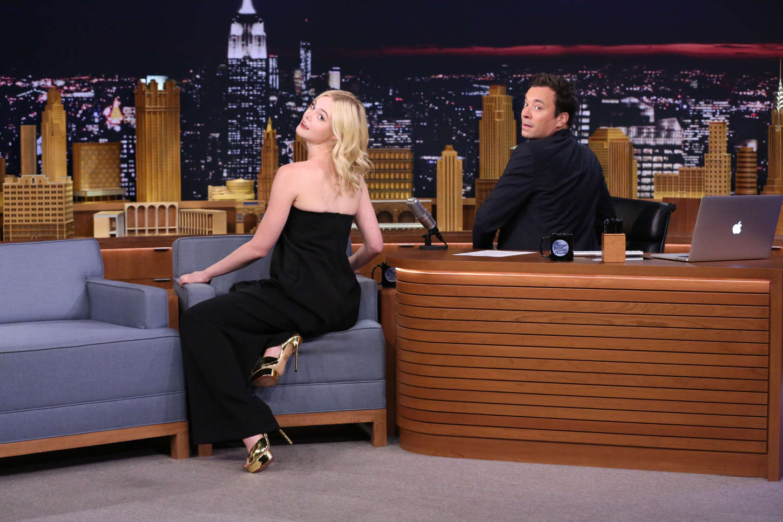 Elle Fanning The Tonight Show Starring Jimmy Fallon 11