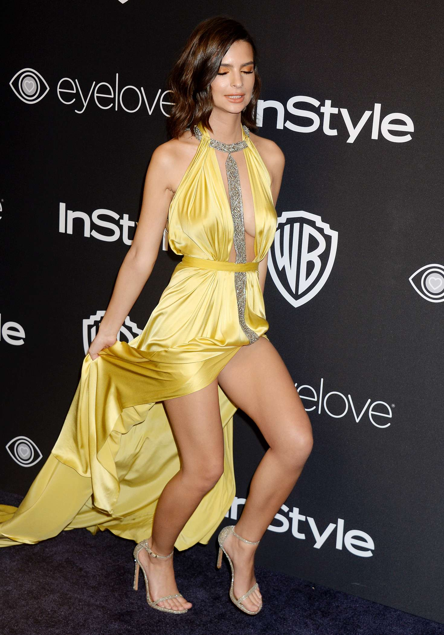Katy Perry Yellow Dress Accident