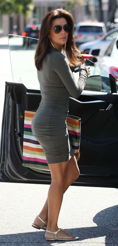 Eva Longoria In Tight Mini Dress 10 GotCeleb