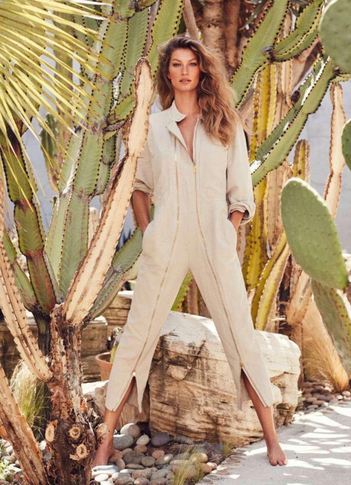 Gisele Bundchen – Harpers Bazaar Australia Magazine (January 2019)